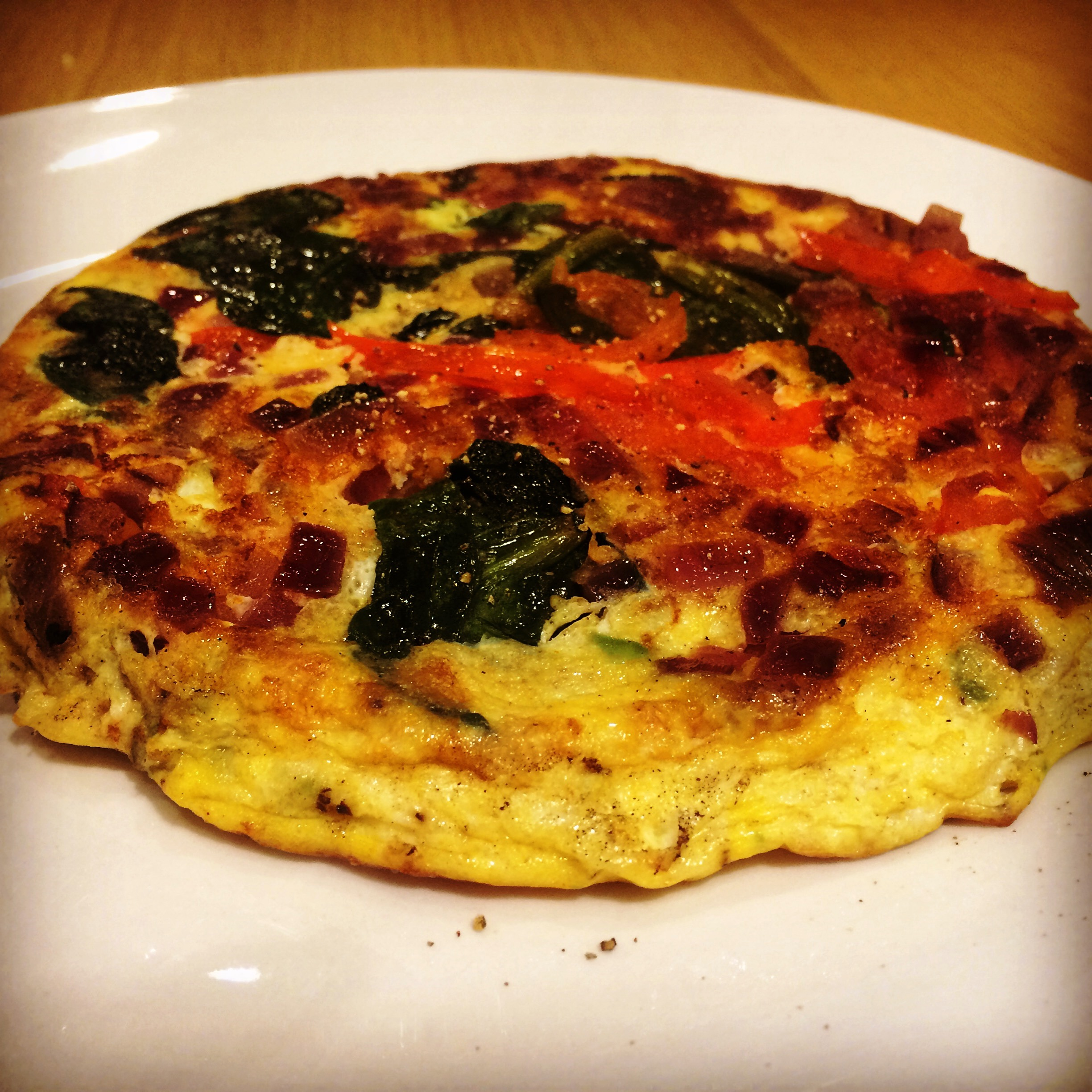 Avocado, Spinach and Tomato Frittata | Food Found in London